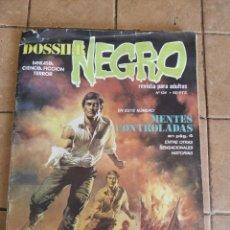 Tebeos: DOSSIER NEGRO - AÑO 1970 - Nº 134 - MENTES CONTROLADAS. Lote 254713320