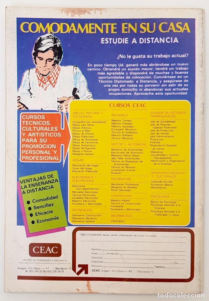 Tebeos: DOSSIER NEGRO Nº 129 RELATOS GRAFICOS TERROR SUSPENSE IBERO MUNDIAL EDICIONES 1980 - Foto 2 - 256050290