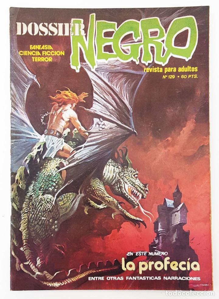 DOSSIER NEGRO Nº 129 RELATOS GRAFICOS TERROR SUSPENSE IBERO MUNDIAL EDICIONES 1980 (Tebeos y Comics - Ibero Mundial)