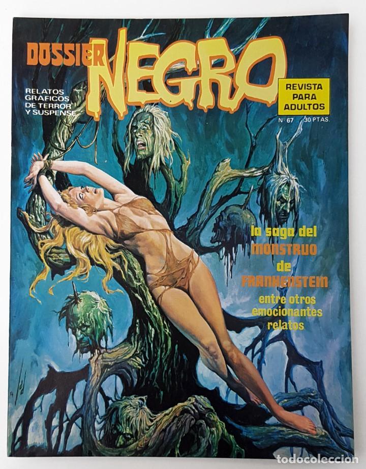 DOSSIER NEGRO Nº 67 RELATOS GRAFICOS TERROR SUSPENSE IBERO MUNDIAL EDICIONES 1974 (Tebeos y Comics - Ibero Mundial)