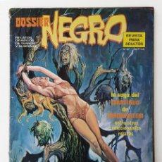 Tebeos: DOSSIER NEGRO Nº 67 RELATOS GRAFICOS TERROR SUSPENSE IBERO MUNDIAL EDICIONES 1974. Lote 256051930