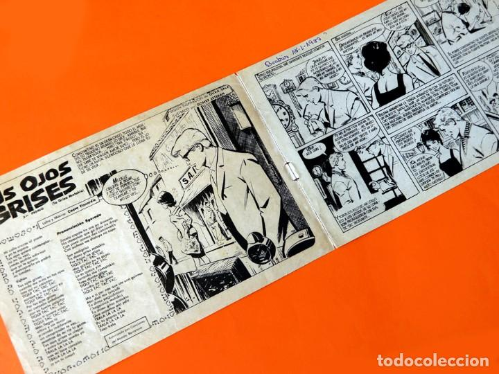 Tebeos: COLECCIÓN CLARO DE LUNA - Nº 116 - TUS OJOS GRISES - ANGELA ZILIA - 1961 - IBERO MUNDIAL -ORIGINAL - - Foto 3 - 256075975