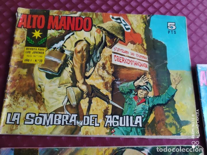 Tebeos: ALTO MANDO AÑO I IBERO MUNDIAL , 10 ,16 Y AÑO II , 21 LOTE EN BUEN ESTADO - Foto 2 - 256081190
