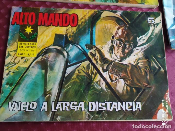 Tebeos: ALTO MANDO AÑO I IBERO MUNDIAL , 10 ,16 Y AÑO II , 21 LOTE EN BUEN ESTADO - Foto 3 - 256081190
