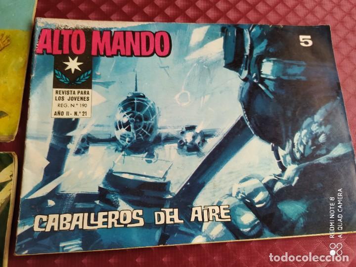 Tebeos: ALTO MANDO AÑO I IBERO MUNDIAL , 10 ,16 Y AÑO II , 21 LOTE EN BUEN ESTADO - Foto 4 - 256081190