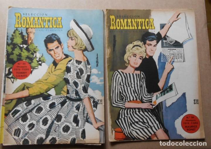 Tebeos: ROMANTICA - LOTE DE 65 NºS - IBERO MUNDIAL EDICIONES 1962 - Foto 2 - 256148640