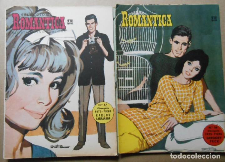 Tebeos: ROMANTICA - LOTE DE 65 NºS - IBERO MUNDIAL EDICIONES 1962 - Foto 3 - 256148640