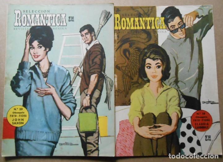 Tebeos: ROMANTICA - LOTE DE 65 NºS - IBERO MUNDIAL EDICIONES 1962 - Foto 4 - 256148640