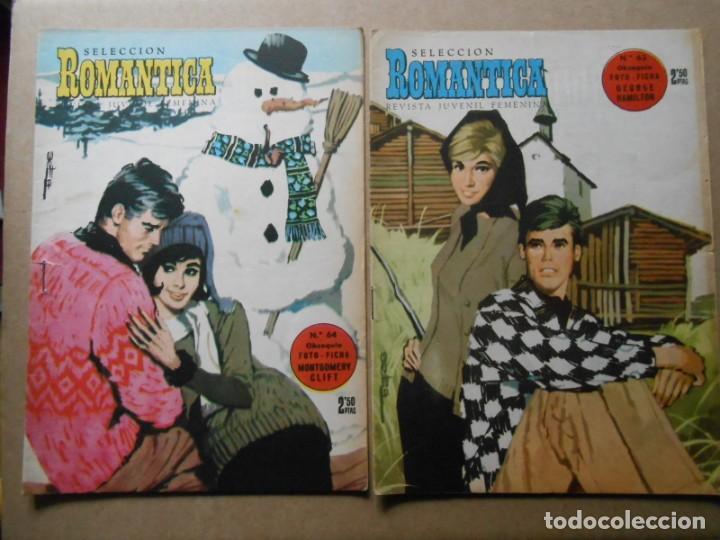 Tebeos: ROMANTICA - LOTE DE 65 NºS - IBERO MUNDIAL EDICIONES 1962 - Foto 5 - 256148640