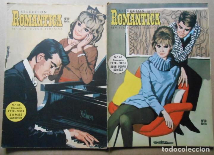 Tebeos: ROMANTICA - LOTE DE 65 NºS - IBERO MUNDIAL EDICIONES 1962 - Foto 6 - 256148640