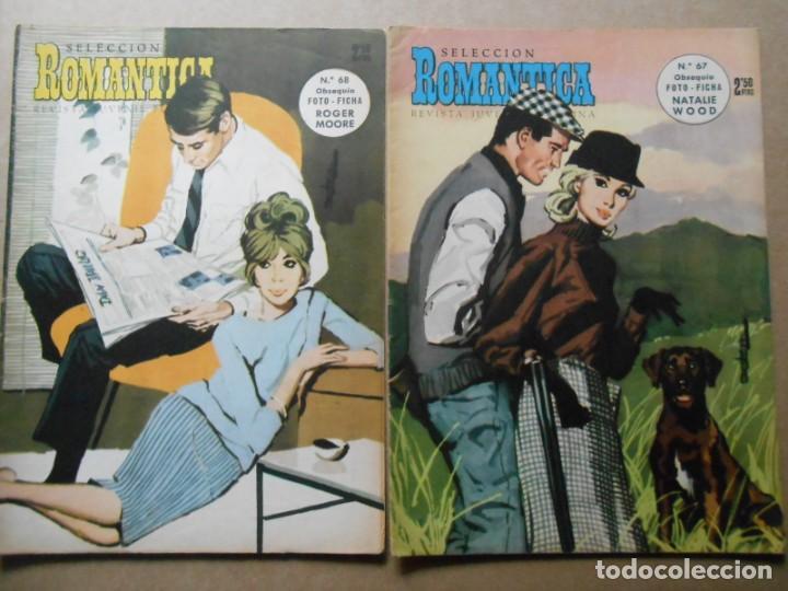Tebeos: ROMANTICA - LOTE DE 65 NºS - IBERO MUNDIAL EDICIONES 1962 - Foto 7 - 256148640