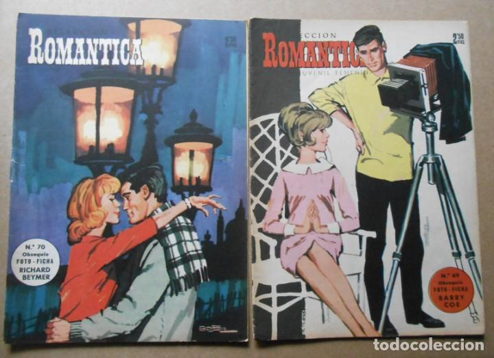 Tebeos: ROMANTICA - LOTE DE 65 NºS - IBERO MUNDIAL EDICIONES 1962 - Foto 8 - 256148640