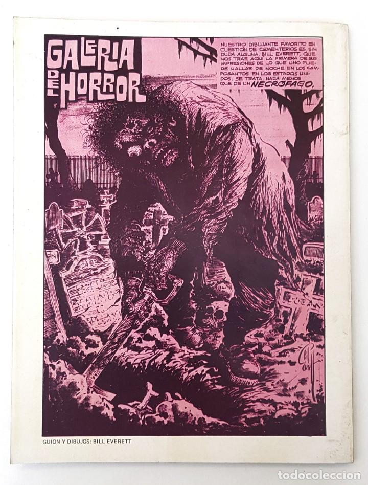 Tebeos: DOSSIER NEGRO Nº 65 RELATOS GRAFICOS TERROR SUSPENSE IBERO MUNDIAL EDICIONES 1974 - Foto 2 - 257325350