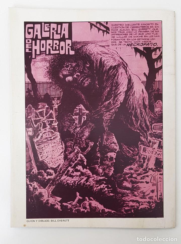 Tebeos: DOSSIER NEGRO Nº 65 RELATOS GRAFICOS TERROR SUSPENSE IBERO MUNDIAL EDICIONES 1974 - Foto 2 - 257325385