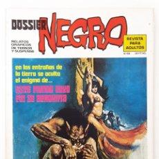 Tebeos: DOSSIER NEGRO Nº 60 RELATOS GRAFICOS TERROR SUSPENSE IBERO MUNDIAL EDICIONES 1974 MUY BUENO. Lote 257329130