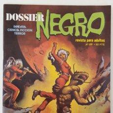Tebeos: DOSSIER NEGRO Nº 128 RELATOS GRAFICOS TERROR SUSPENSE IBERO MUNDIAL EDICIONES 1979. Lote 257484635
