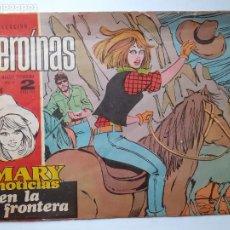 Tebeos: MARY NOTICIAS- Nº 416 - EN LA FRONTERA-1970-GRAN CARMÉN BARBARÁ-CASI BUENO-ÚNICO EN TC-LEAN-4618. Lote 257532480