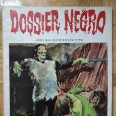 Giornalini: DOSSIER NEGRO Nº 24. RELATOS GRAFICOS DE TERROR Y SUSPENSE IBERO MUNDIAL DE EDICIONES 1971. Lote 258128375
