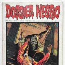 BDs: DOSSIER NEGRO Nº 49 RELATOS GRAFICOS DE TERROR Y SUSPENSE IBERO MUNDIAL DE EDICIONES 1973. Lote 260090340