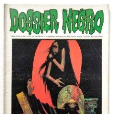 Livros de Banda Desenhada: DOSSIER NEGRO Nº 40 RELATOS GRAFICOS DE TERROR Y SUSPENSE IBERO MUNDIAL DE EDICIONES 1972. Lote 260090735