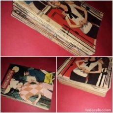 Tebeos: LOTE 40 NOVELA GRÁFICA ROMANTICA IMDE 1961 ( NUMERACIÓN Y FOTOS DE TODAS ). Lote 262024455