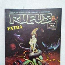Tebeos: RUFUS EXTRA ( CÓMIC ) NÚMERO ESPECIAL CIENCIA FICCIÓN. Lote 262121530