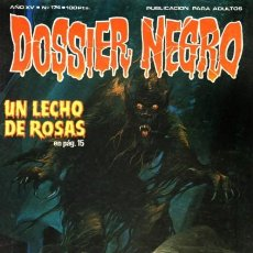 Tebeos: DOSSIER NEGRO- Nº 174 -JACK SPARLING-EL ETERNAUTA-VICATÁN JR.-D.HECK-1984-BUENO-DIFÍCIL-LEAN-4745. Lote 263074575