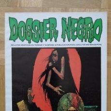 Tebeos: COMIC DOSSIER NEGRO Nº 40 RELATOS GRAFICOS DE TERROR Y SUSPENSE IBERO MUNDIAL DE EDICIONES 1972. Lote 263797800
