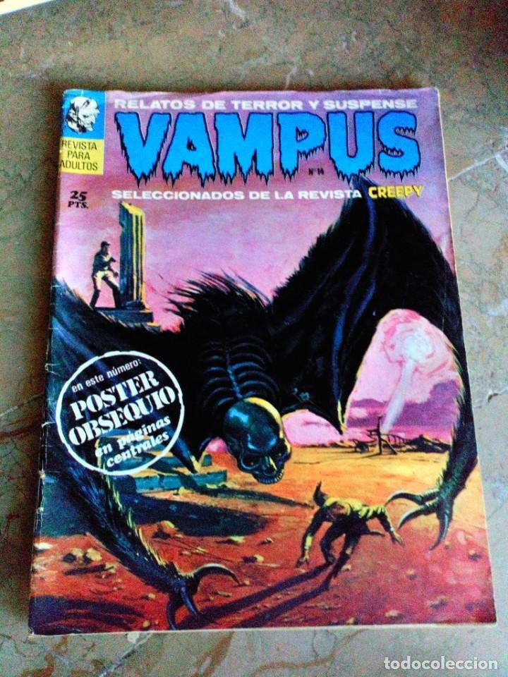 VAMPUS Nº 14 SIN POSTERS ORIGINAL (SIN POSTER) IBEROMUNDIAL (Tebeos y Comics - Ibero Mundial)
