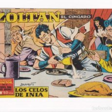 Tebeos: ZOLTAN EL CINGARO: NUMERO 23 LOS CELOS DE INIA, EDITORIAL IBERO MUNDIAL DE EDICIONES. Lote 264805399