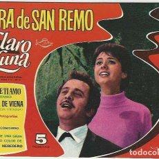 Giornalini: IBERO MUNDIAL. CLARO DE LUNA. 20. EXTRA DE SAN REMO,. Lote 271277153