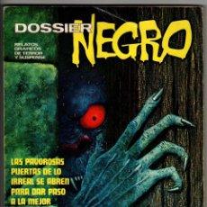 Tebeos: DOSSIER NEGRO EXTRA INVIERNO (IBEROMUNDIAL 1973). Lote 274555223