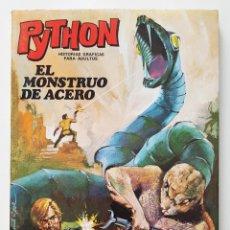 Giornalini: COMIC PYTHON Nº 1 - EL MONSTRUO DE ACERO - IBERO MUNDIAL DE EDICIONES - 1969 - 128 PGS. Lote 275100128