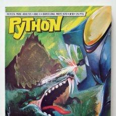 Giornalini: COMIC PYTHON Nº 8 - LA MAQUINA DEL TIEMPO- IBERO MUNDIAL DE EDICIONES - 1970 - 128 PGS BUENISIMO. Lote 275101053
