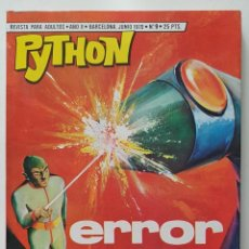 Giornalini: COMIC PYTHON Nº 9 - ERROR - IBERO MUNDIAL DE EDICIONES - 1970 - 128 PGS BUENISIMO. Lote 275102698