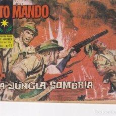 Livros de Banda Desenhada: ALTO MANDO : NUMERO 11 LA JUNGLA SOMBRIA, EDITORIAL IBERO MUNDIAL DE EDICIONES. Lote 276241023