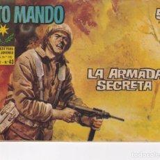 Livros de Banda Desenhada: ALTO MANDO : NUMERO 43 LA ARMADA SECRETA, EDITORIAL IBERO MUNDIAL DE EDICIONES. Lote 276241488
