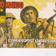 Livros de Banda Desenhada: ALTO MANDO : NUMERO 36 COMANDOS EN ACCION, EDITORIAL IBERO MUNDIAL DE EDICIONES. Lote 276241663