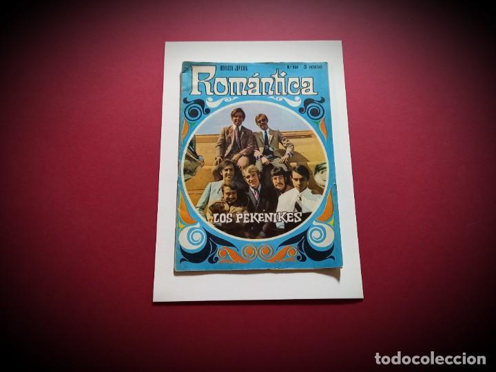 ROMANTICA 353 PEKENIKES - POSTER CENTRAL BEATLE GEORGE -CANCION DE HUMPERDINCK - (Tebeos y Comics - Ibero Mundial)