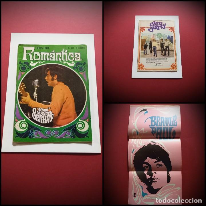 ROMANTICA Nº 351. SERRAT PORTADA. INCLUYE POSTER PAUL MCCARTNEY BEATLES (IBERO MUNDIAL) (Tebeos y Comics - Ibero Mundial)