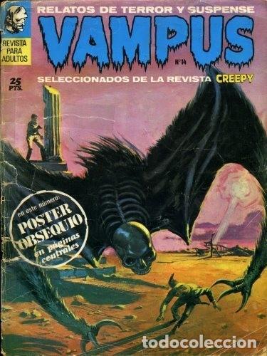 VAMPUS 14 - RELATOS DE TERROR Y SUSPENSE - IBEROMUNDIAL - SELECCION DE CREEPY .SIN POSTER (Tebeos y Comics - Ibero Mundial)