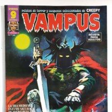 Tebeos: VAMPUS Nº 48 - RELATOS GRAFICOS DE TERROR - IBERO MUNDIAL 1975 - POSTER - PERFECTO. Lote 278957983