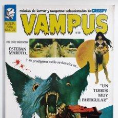 Tebeos: VAMPUS Nº 20 - RELATOS DE TERROR Y SUSPENSE - IBERO MUNDIAL - SELECCION DE CREEPY. Lote 278959918