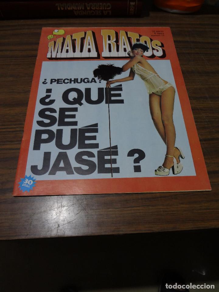 MATA RATOS II EPOCA Nº 15 (Tebeos y Comics - Ibero Mundial)