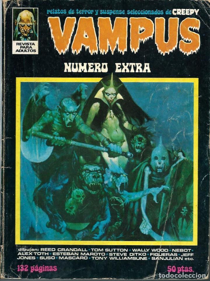 VAMPUS NUMERO EXTRA ABRIL 1973 - IBEROMUNDIAL 1973 - DIFICIL (Tebeos y Comics - Ibero Mundial)