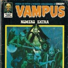 Tebeos: VAMPUS NUMERO EXTRA ABRIL 1973 - IBEROMUNDIAL 1973 - DIFICIL. Lote 288363473