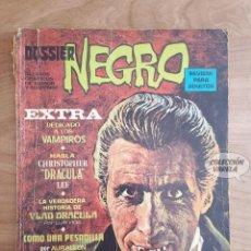 Tebeos: DOSSIER NEGRO - EXTRA VAMPIROS - CHRISTOPHER LEE - DRACULA. Lote 289868743