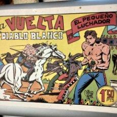 Tebeos: EL PEQUEÑO LUCHADOR Nº 23.LA VUELTA DE DIABLO BLANCO.M.GAGO.FACSIMILES.1988.IBERCOMIC-MAM. FACSIMIL. Lote 292142303