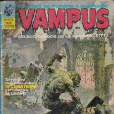 Tebeos: VAMPUS - Nº 3 - RELATOS DE TERROR Y SUSPENSE - 1971 - IBEROMUNDIAL -. Lote 293210108