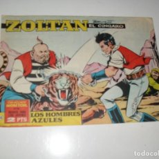 Giornalini: ZOLTAN EL ZINGARO 55.IBERO MUNDIAL,AÑO 1962.ORIGINAL APAISADO... Lote 293800573